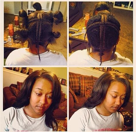 short style vixen sew in vixen weave hair nails and beauty pinterest vixen weave