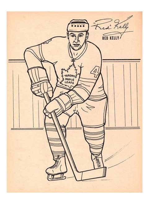 toronto maple leafs coloring pages free coloring pages