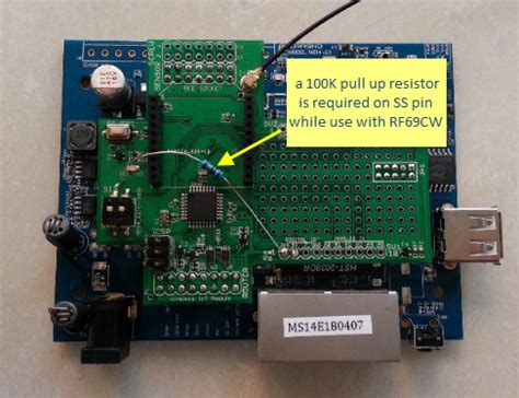 100k pull up resistor m328w wiki for dragino project