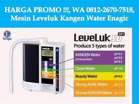 Mesin Kangen Water Enagic promo wa 0812 2670 7518 mesin kangen water kangen