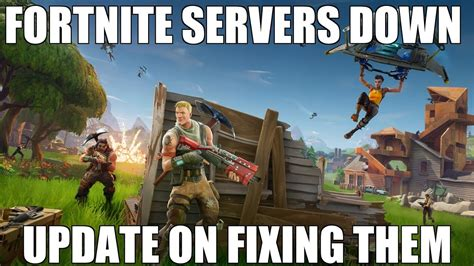 why fortnite servers are fortnite servers update fixing them quickly
