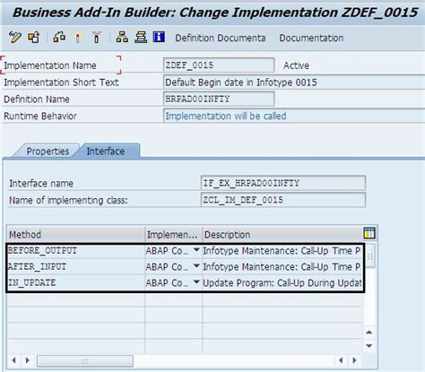 badi tutorial sap technical badi to default values in pa infotypes sap blogs