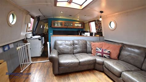 wide beam boats for sale with moorings wide beam 65ft with london mooring boatshed boat ref