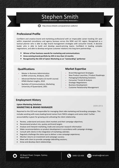 25 Best Ideas About Sle Resume Templates On Pinterest Cv Format Sle Cv Resume Sle Proven Resume Templates