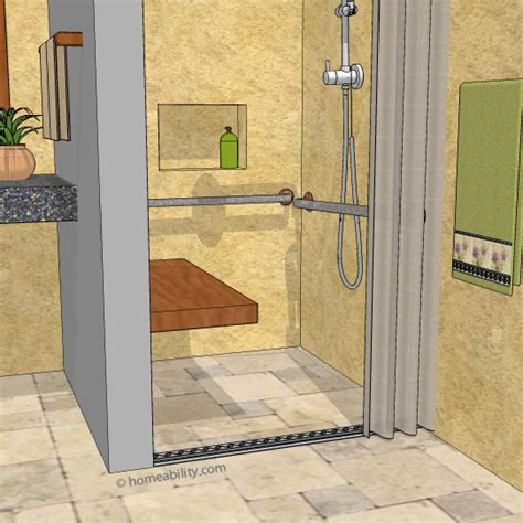 Clawfoot Tub Bathroom Design Ideas by Trench Drain For Accessible Showers The Basics