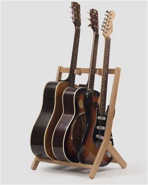 Multi Guitar Wall Rack by Best 25 Guitar Stand Ideas On Guitar Hanger