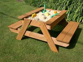 Build Your Own Children S Picnic Table how to build a kids picnic table and sandbox combo diy projects for everyone