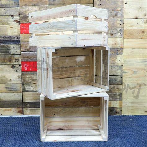 mobili con cassette di legno mobili con cassette di legno riciclo cassette legno