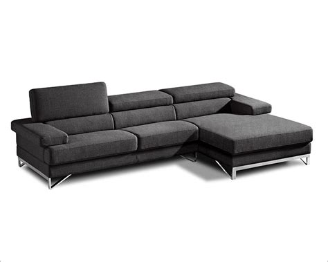 modern style sectional sofa sectional sofa in fabric modern style 44l6053