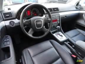 black interior 2008 audi a4 2 0t quattro s line sedan