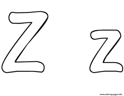 z free alphabet s65c6 coloring pages printable