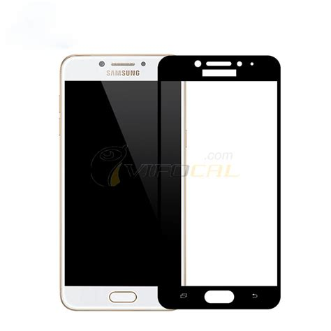 Tempered Glass Warna Kaca Samsung C5 Pro C5 tempered glass fully cover screen protector for samsung galaxy c5 pro c5010 smartphone