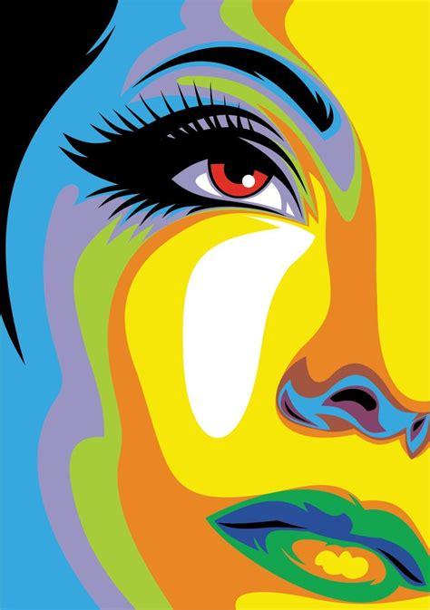 pop art a colourful best 25 pop art face ideas on pop art effect pop art costume and comic costume