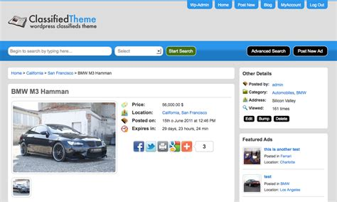 wordpress templates for advertising wordpress classified ads theme classified ads script