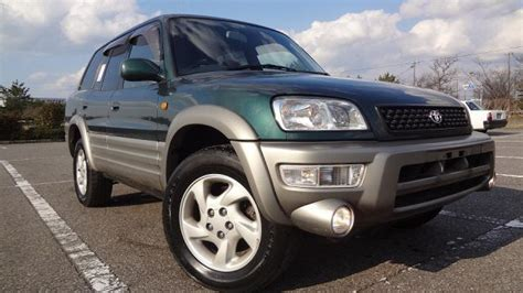 Types Of Toyota Suvs Japanese Used Toyota Rav4 L 4wd Type G Fog L 4 0 1999