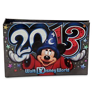 Disney Mickey Photo Album Small sorcerer mickey mouse photo album walt disney world 2013