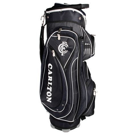 Golf Standbag Golf Pgf afl carlton blues cart style golf bag sportitude