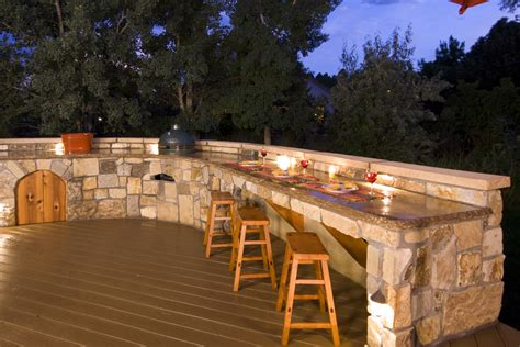Bbq Island Lighting Ideas Lighting For Your Outdoor Kitchen A1 Electrical