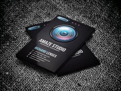 business card template photographer photographer lens business card business card templates