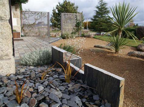 Garage Plan Design jardin moderne daniel paysage