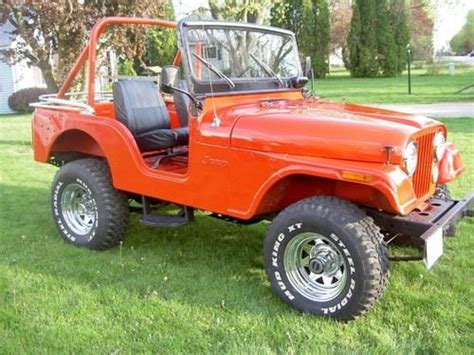 1974 Jeep Cj5 Parts Purchase Used 1974 Cj5 Jeep In Fremont Ohio United States