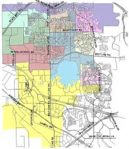 Home Zone Denton Tx map