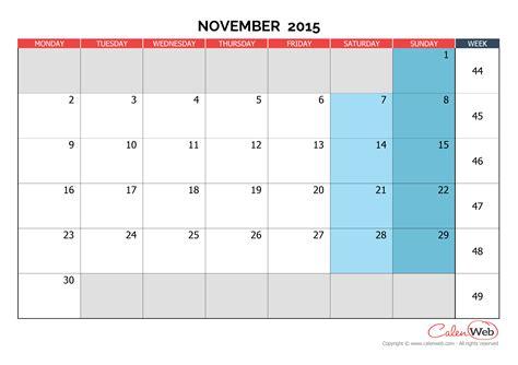 printable calendar november 2015 uk november 2015 calendar uk 187 nağberr