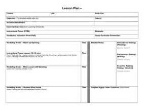 blank 5 e lesson plan template blank lesson plan format template blank lesson template