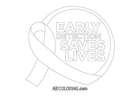 ovarian cancer color ovarian cancer pages coloring pages