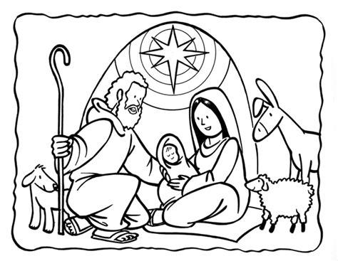 secuencia de imagenes nacimiento de jesus material educativo para maestros secuencia para colorear