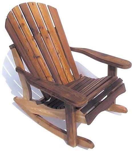 cedar rocking chair plans eagle s nest cedar adirondack rocker porch furniture