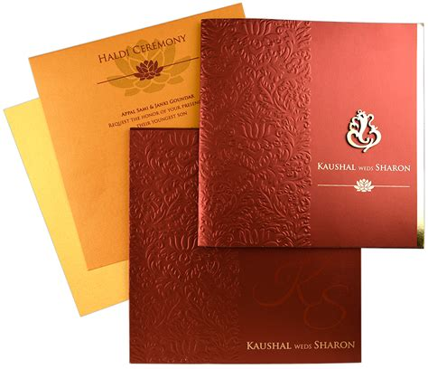 wedding card hindu indian wedding card s