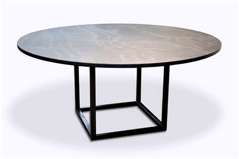 Square Root Dining Table (Stone Top)   ROOM