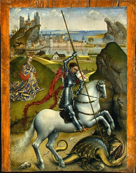 saint george and the dragon file rogier van der weyden saint george and the dragon nga washington jpg wikimedia commons