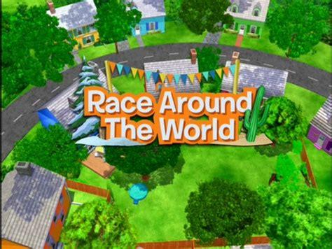 Backyardigans Houses Race Around The World The Backyardigans Wiki Fandom