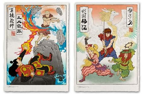 ukiyo  heroes art prints  gadgetsin
