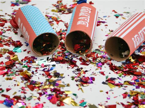 Popper Confetti Edition d i y poppers 4th of july edition