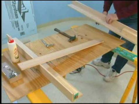 building a train table benchwork videolike