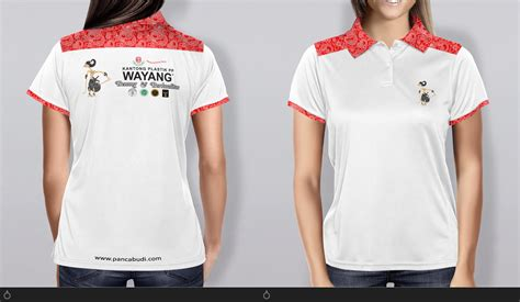 Kaos Polo Shirt Promosi 3 pp wayang polo shirt