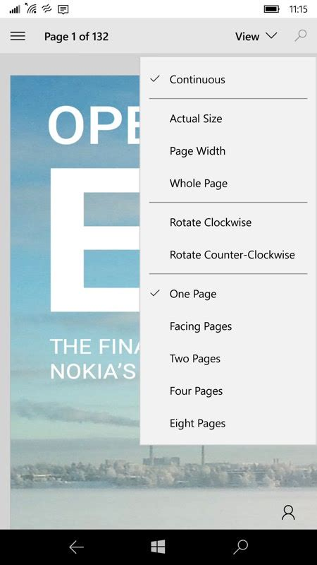 read mobile how to read pdf files on windows 10 mobile