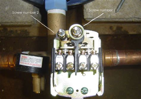 how to wire a 20 40 pumptrol pressure switch for a well