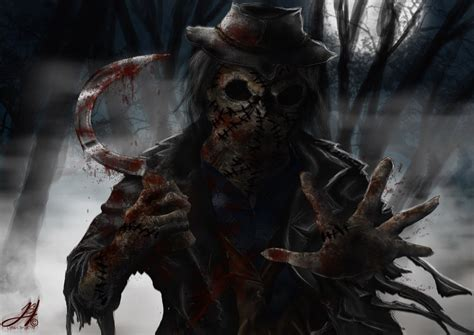 true stories of macabre monstrous creatures monstrous monsters books scarecrow by arkarti on deviantart