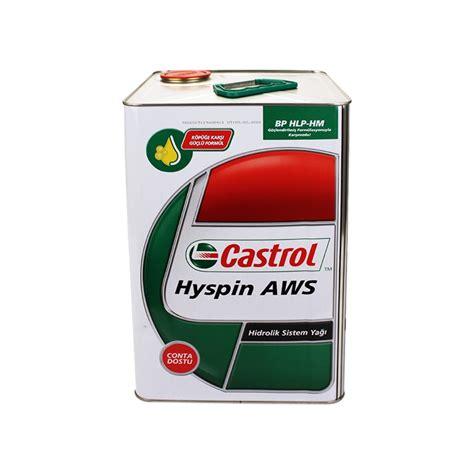 castrol hyspin aws   hidrolik yagi fiyati
