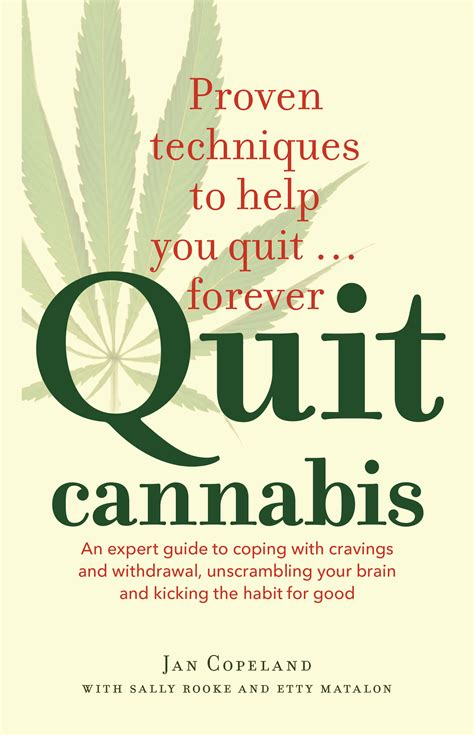 Detox And Quit Marijuana by Quit Cannabis Jan Copeland With Sally Rooke And Etty