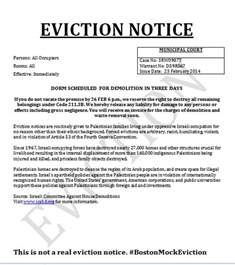 prank letter templates cus eviction notices are but their anti semitism