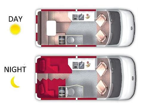 sprinter van conversion floor plans 22 ft rs sprinter mercedes van conversion rv rentals