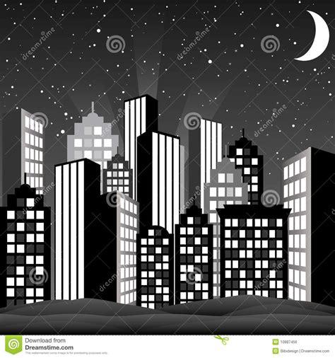 imagenes urbanas en blanco y negro paisaje urbano blanco y negro ilustraci 243 n del vector