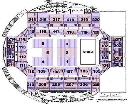 the broad stage seating chart seating charts broadmoor world arena