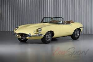 Jaguar E Type Yellow 1967 Jaguar Xke E Type Series 1 Roadster Beautiful