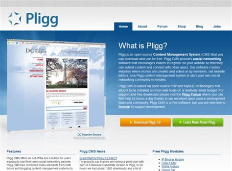 powered by pligg cms pligg cms cms framework css showcase gallery css